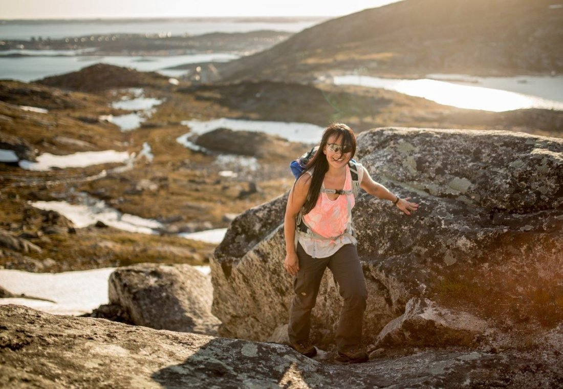 Greenland_VisitGreenland_MadsPhil_Lykke-on-the-first-part-of-the-climb